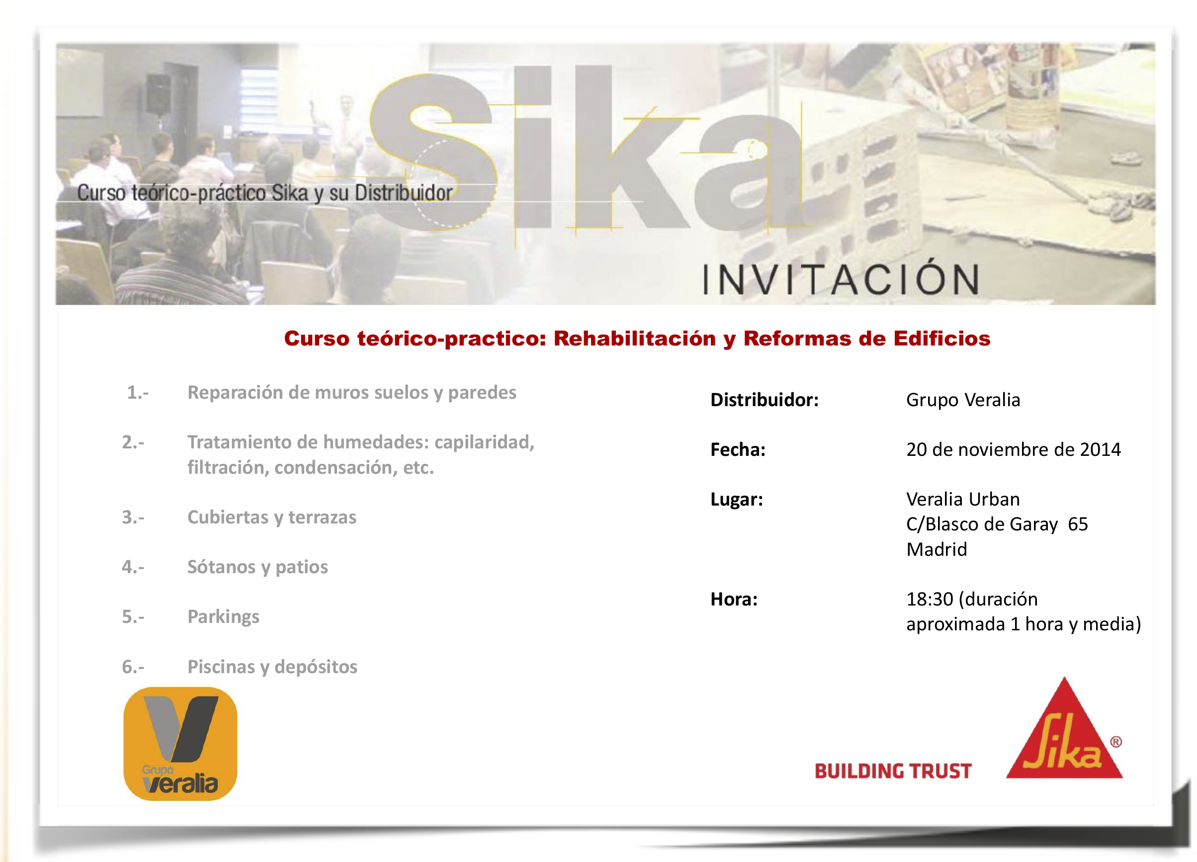 folleto mailing