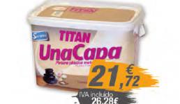 Pintura monocapa colores 5L Titán