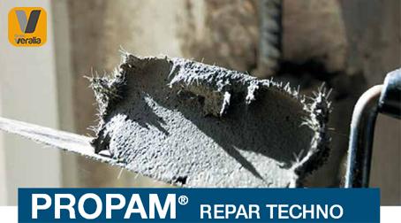 mortero formulado  con ligantes hidráulicos especiales, áridos de  granulometría muy na, bras y resinas sintéticas  adecuado para la reparación y enlucido del hormigón