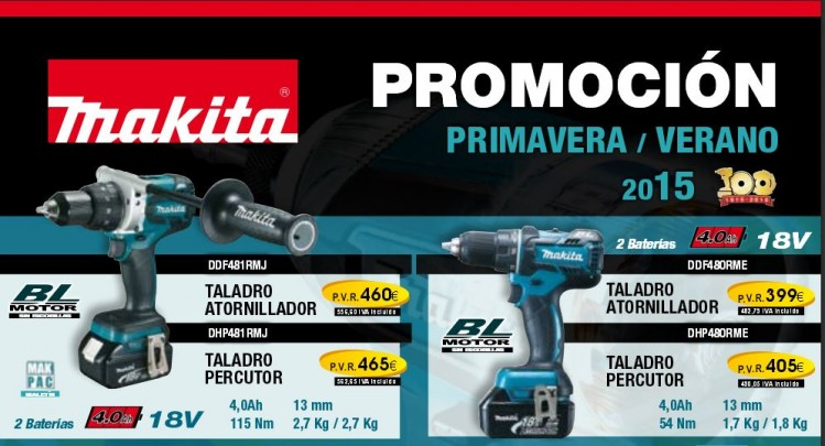 Promoción Makita