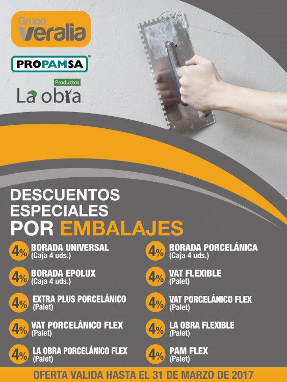 Veralia_Flyer digital descuento cementos